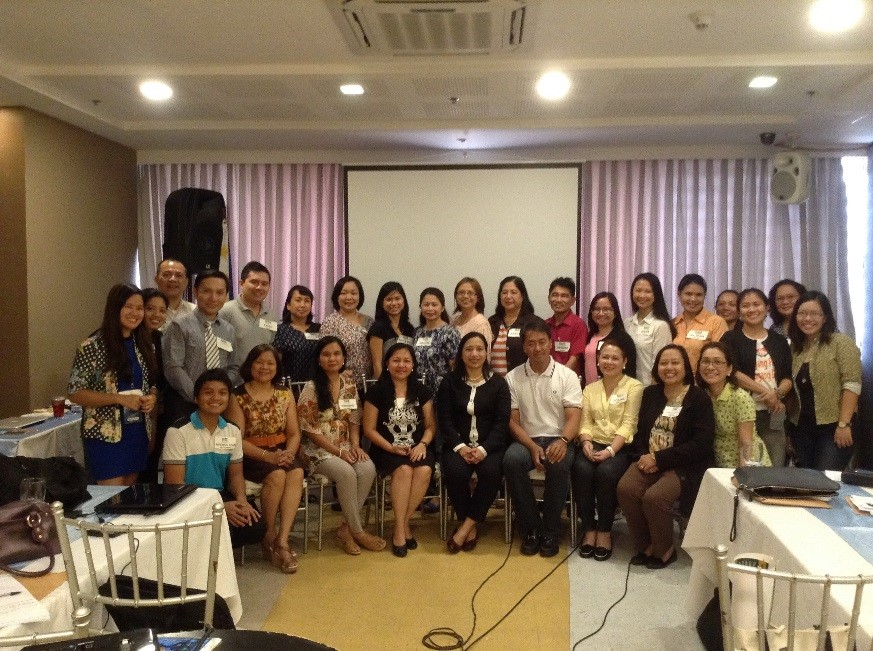 Researchers strike a pose after the Basic Ethics Research Training. (WVHRDC)