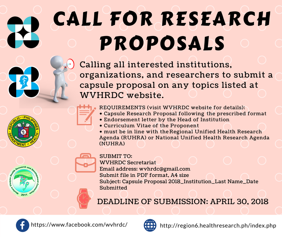 pcarrd research proposal format